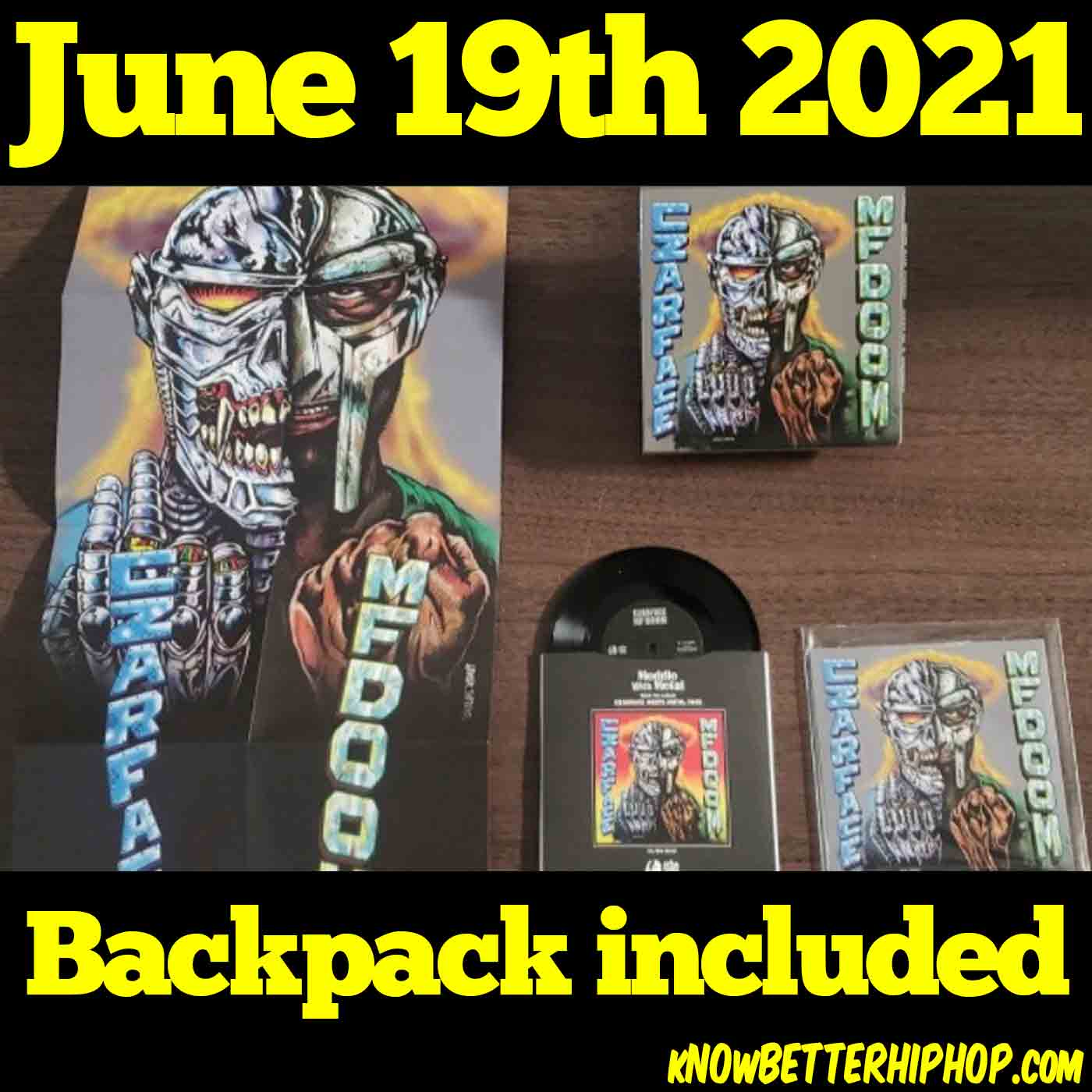6-19-21 OUR show Backpack included