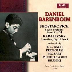 Daniel Barenboim - Piano Sonata No. 5 in G, K.283: III. Presto