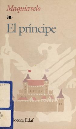 Cover of: El príncipe | Niccolò Machiavelli